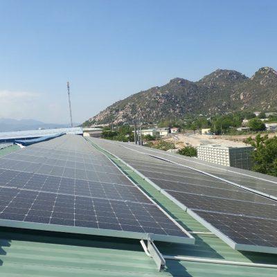 Hệ thống điện mặt trời hòa lưới 274.4 kWp tại Vietfarm – Ninh Thuận