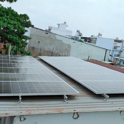 Hệ thống điện mặt trời hòa lưới 9.8 kWp tại Hộ dân – Quận 12 – HCM