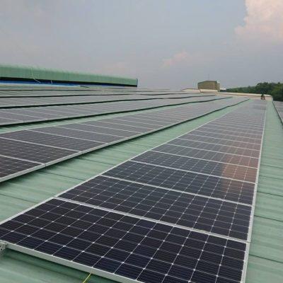 Hệ thống điện Mặt Trời hòa lưới 157.5 kWp tại GC FOOD – Đồng Nai