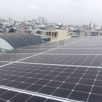 Hệ thống điện mặt trời hòa lưới 33.25 kWp tại Xưởng dệt – Tân Phú
