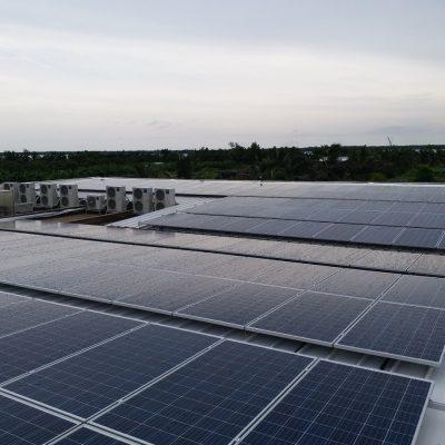 Hệ thống điện mặt trời hòa lưới 95 kWp tại Mỹ Lan Group