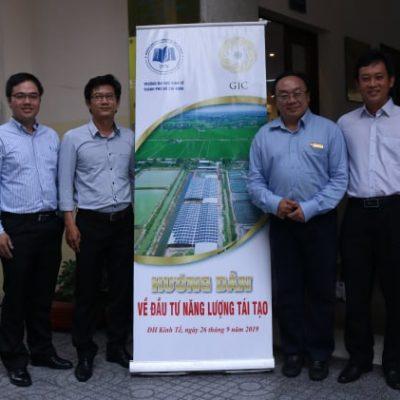 """""""Hướng dẫn về đầu tư năng lượng tái tạo"""" tại Khoa Kinh tế – Đại học Kinh tế TPHCM"""