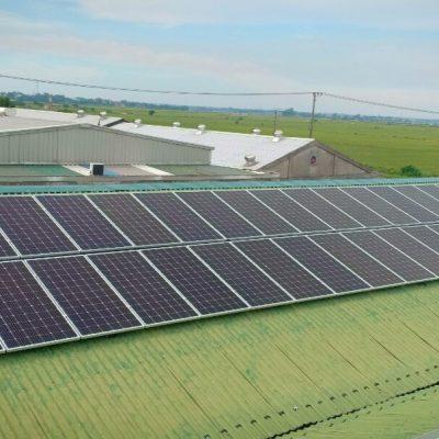 Hệ thống điện Mặt Trời hòa lưới 144 kWp tại Khu công nghiệp Da Giày Huế