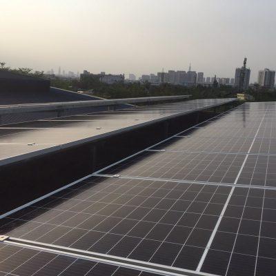 Hệ thống điện Mặt Trời hòa lưới 67,6 kWp tại Công ty CP Mỹ Phẩm Sài Gòn
