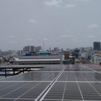 Hệ thống điện Mặt Trời hòa lưới 11,2 kWp tại Bàu Cát 2
