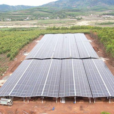 Hệ thống năng lượng mặt trời áp mái có công suất <1MWp tại huyện Mang Yang, tỉnh Gia Lai