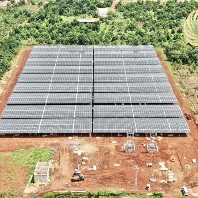 Hệ thống năng lượng mặt trời áp mái kết hợp trang trại nông nghiệp tại Huyện Ia Grai, Tỉnh Gia Lai