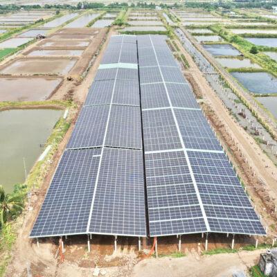 Hệ thống năng lượng mặt trời áp mái kết hợp trang trại nông nghiệp tại Tỉnh Sóc Trăng